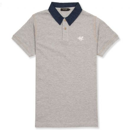 Senlak DNM Polo - Heather Grey
